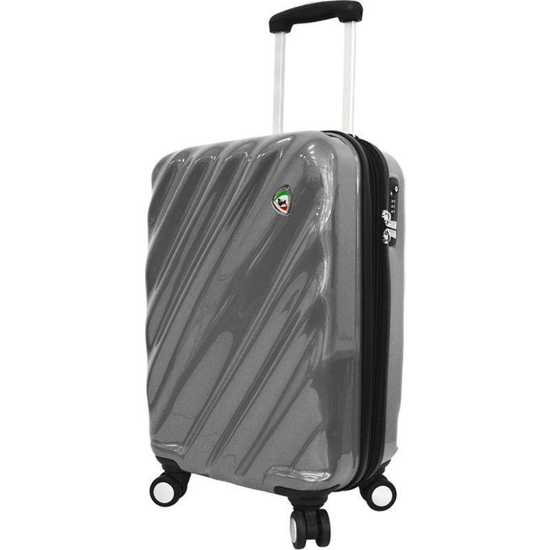 ミアトロ メンズ スーツケース バッグ Onda Fusion Hardside 20 Spinner Carry-On Grey