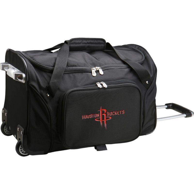 デンコスポーツ メンズ スーツケース バッグ NBA 22 Rolling Duffel Houston Rockets