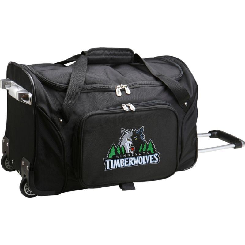 デンコスポーツ メンズ スーツケース バッグ NBA 22 Rolling Duffel Minnesota Timberwolves
