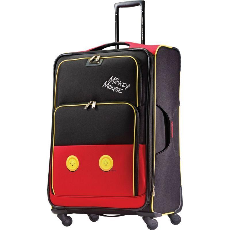 アメリカンツーリスター メンズ スーツケース バッグ Disney Mickey Mouse Softside Spinner 28 Mickey Mouse Pants