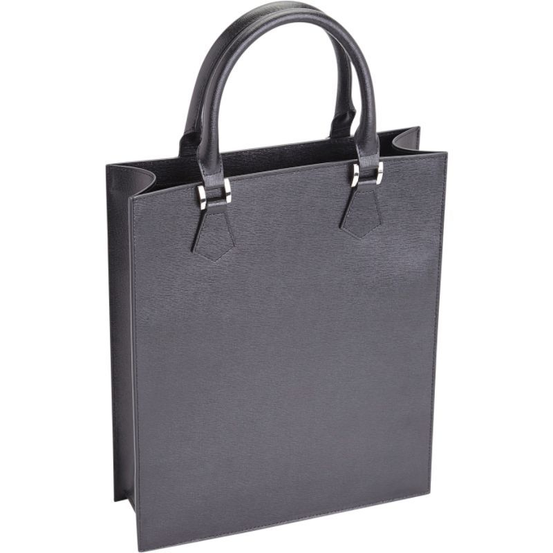 ロイスレザー レディース スーツケース バッグ RFID Blocking Executive Women's Laptop Tote Briefcase Black