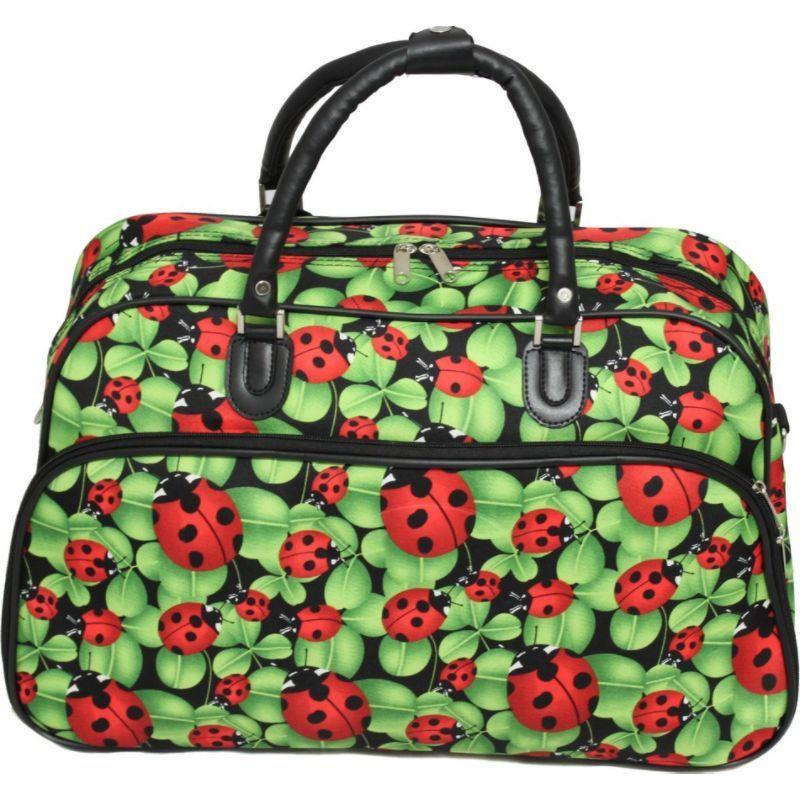 ワールドトラベラー メンズ スーツケース バッグ Ladybug 21 Carry-On Duffel Bag Ladybug