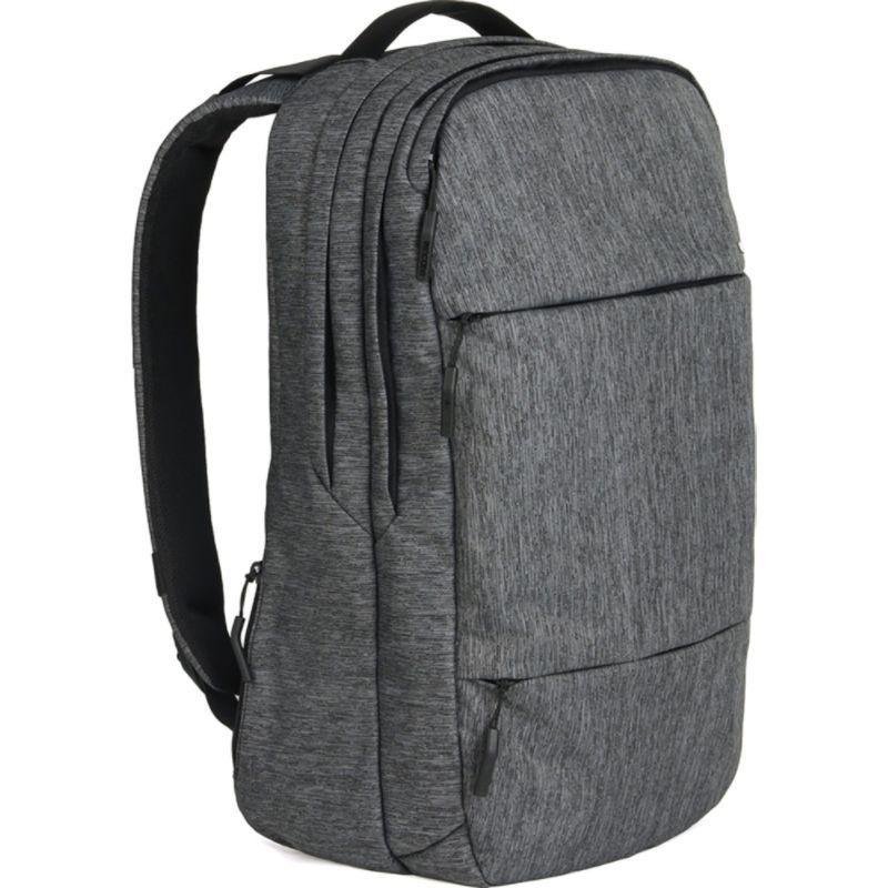 インケース メンズ バックパック・リュックサック バッグ City Collection Backpack Heather Black/Gunmetal Gray