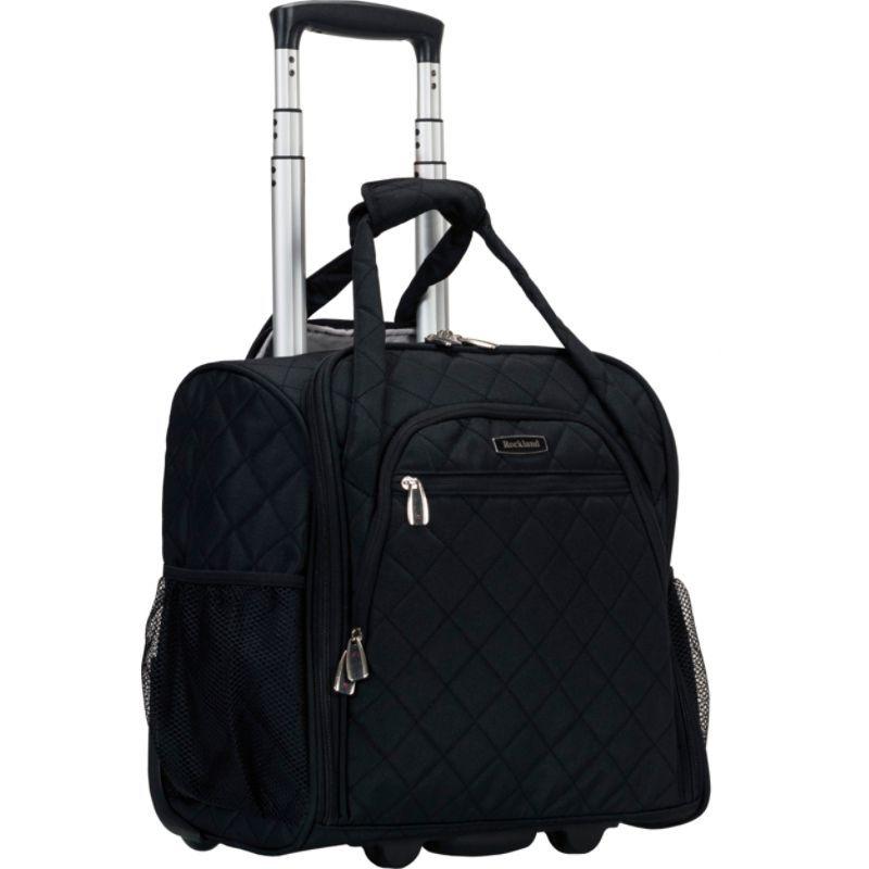 ロックランド メンズ スーツケース バッグ Wheeled Underseat Carry-On Black