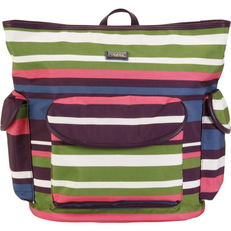 ハダキ メンズ バックパック・リュックサック バッグ City Backpack Stripes