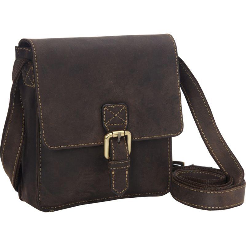 ビスコッティ メンズ ショルダーバッグ バッグ Modern Style Small Messenger Shoulder Bag Oil Brown