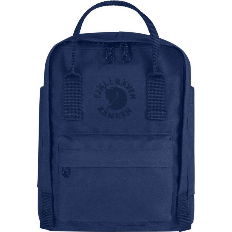 フェールラーベン メンズ バックパック・リュックサック バッグ Re-Kanken Mini Backpack Midnight Blue