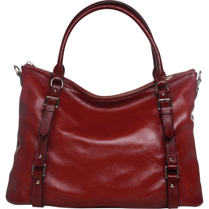 ビンセンゾレザー メンズ ショルダーバッグ バッグ Callie Leather Shoulder Bag Red