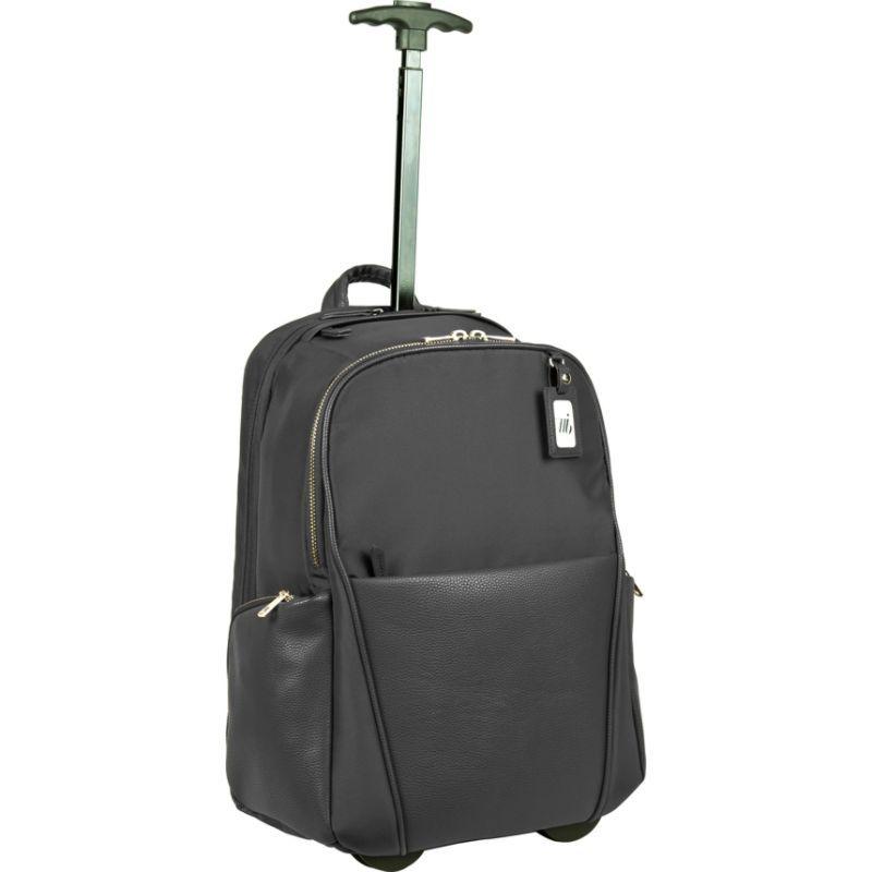 ウーメンインビジネス レディース スーツケース バッグ Portofino Ladies Roller Backpack Black