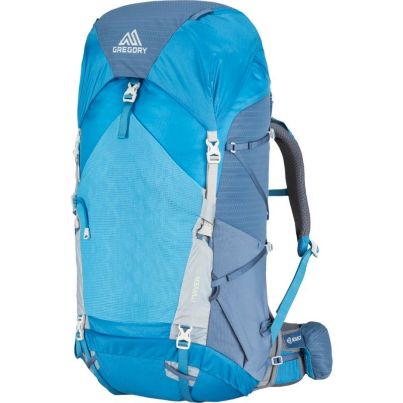 グレゴリー メンズ バックパック・リュックサック バッグ Maven 55 Hiking Backpack - Small/Medium River Blue