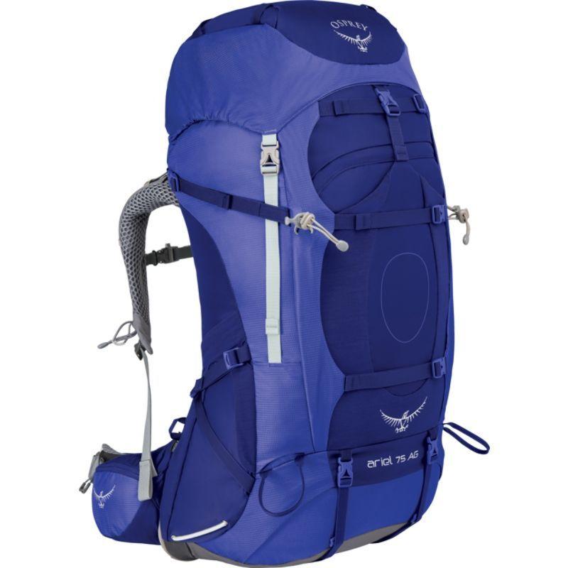 オスプレー レディース バックパック オスプレー Hiking・リュックサック WXS バッグ Womens Ariel AG 75 Hiking Pack Tidal Blue WXS, Toda-Kanamono:1618dd1d --- acee.org.ar