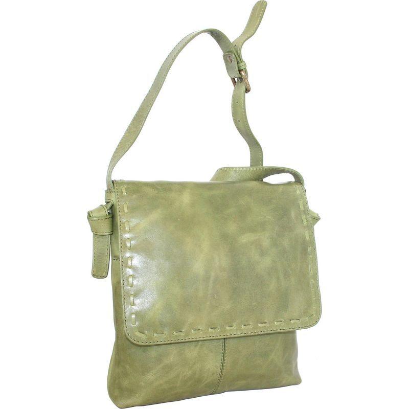 ニノボッシ メンズ ボディバッグ・ウエストポーチ バッグ Christie Crossbody Bag Avocado