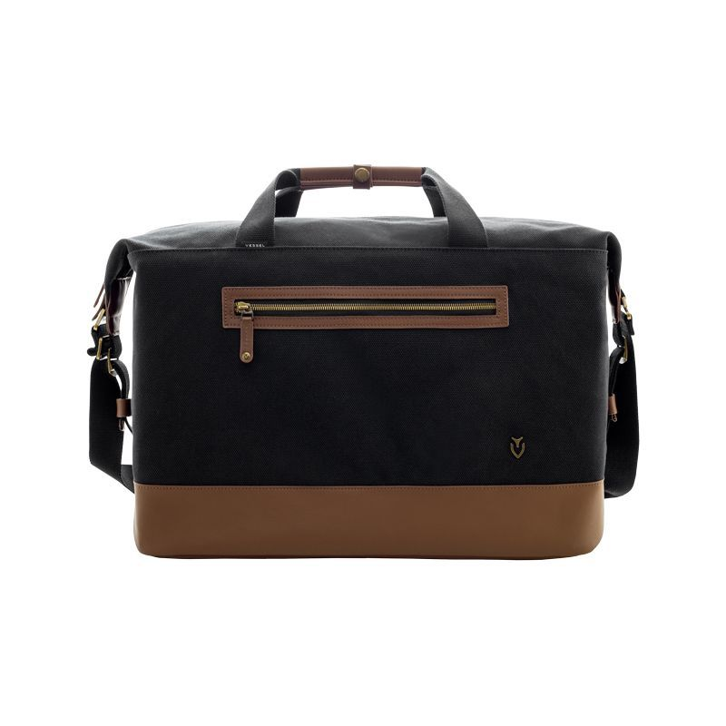 ベッソル メンズ スーツケース バッグ Refined Duffel Black