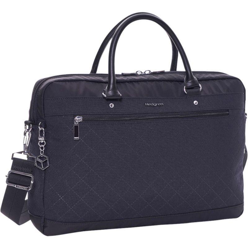 ヘドグレン メンズ スーツケース バッグ Opal L Business Bag Black