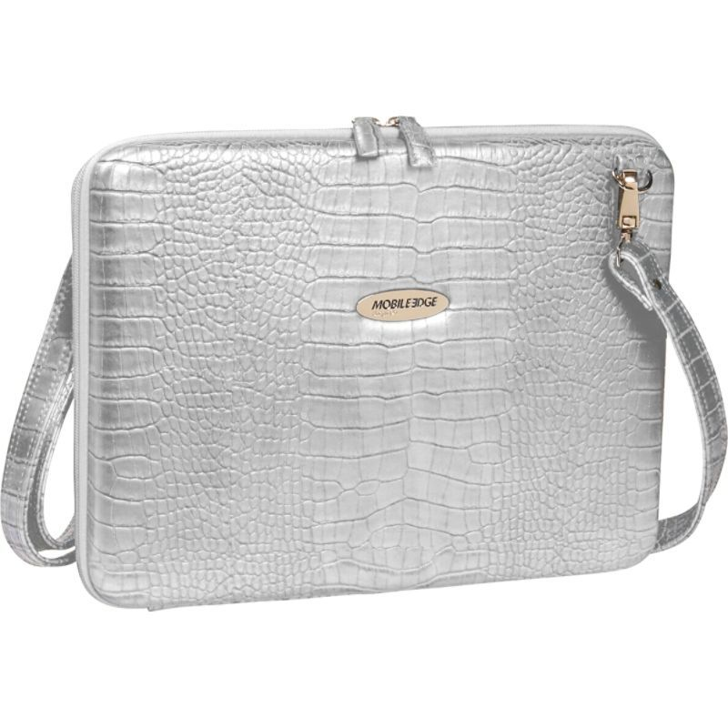 モバイルエッジ メンズ スーツケース バッグ Faux Croc Portfolio - 14.1PC / 15 MacBook Pro White