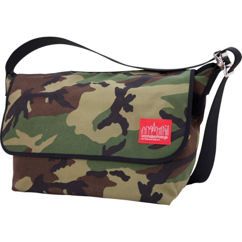 マンハッタンポーテージ メンズ ショルダーバッグ バッグ Vintage Messenger Bag - Large Camo