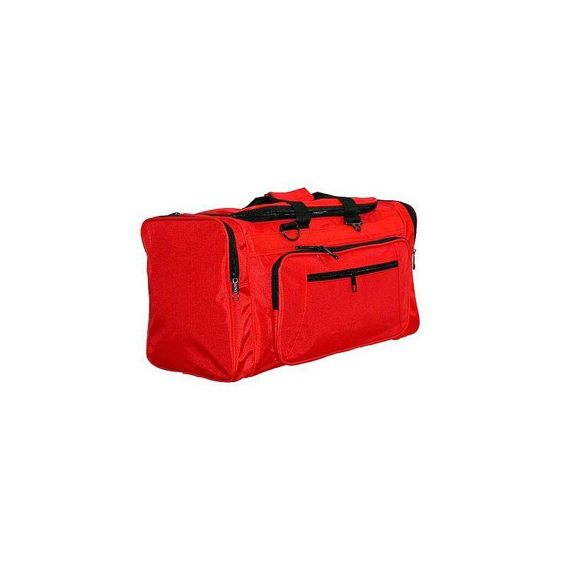 ネットパック メンズ スーツケース バッグ 21 Ballistic Nylon Cargo Duffel Red