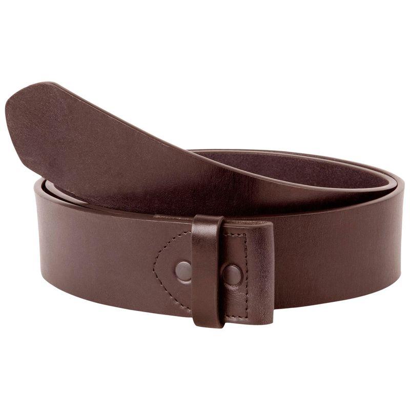 マウンテンカーキス メンズ ベルト アクセサリー Leather Belt S - Brown