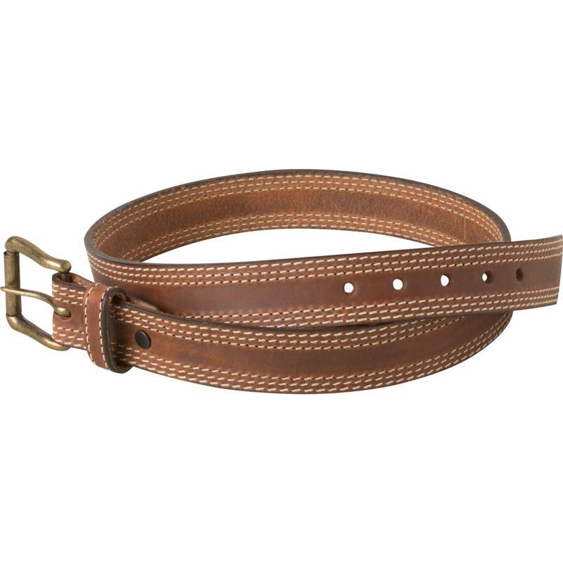 マウンテンカーキス メンズ ベルト アクセサリー Triple Stitch Belt 30 - Brown
