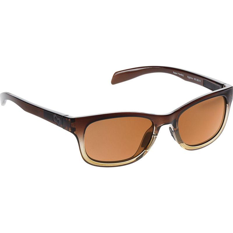ネイティブアイウェア メンズ サングラス・アイウェア アクセサリー Highline Sunglasses Stout Fade with Polarized Brown