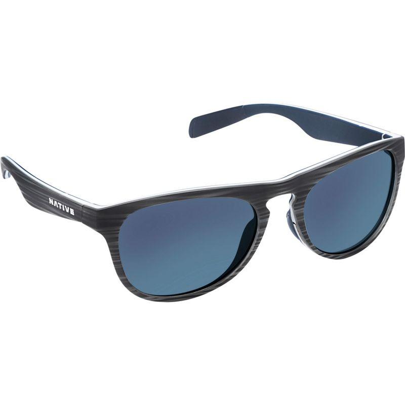 ネイティブアイウェア メンズ サングラス・アイウェア アクセサリー Sanitas Sunglasses Driftwood/White/Blue with Polarized Blue Reflex