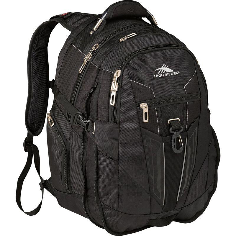 ハイシエラ メンズ スーツケース バッグ XBT Laptop Backpack Black