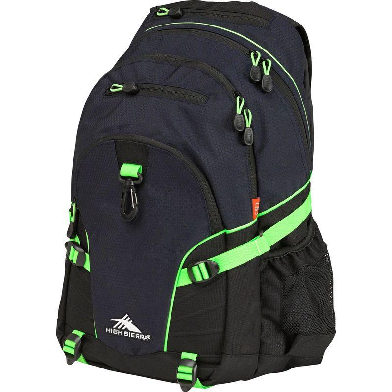 ハイシエラ メンズ バックパック・リュックサック バッグ Loop Backpack Midnight Blue/Black/Lime