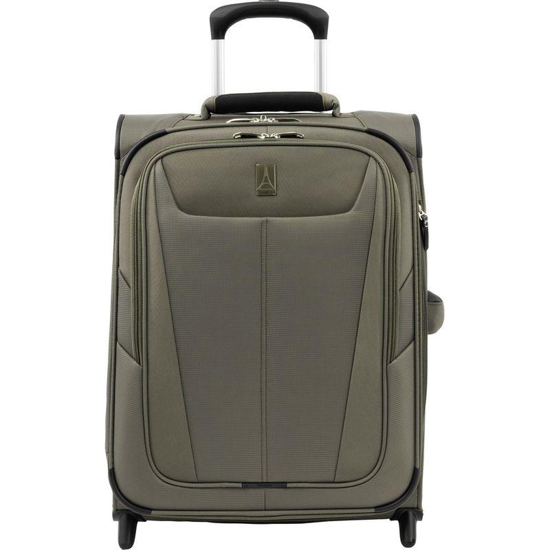 トラベルプロ メンズ スーツケース バッグ Maxlite 5 International Expandable Carry-On Rollaboard Slate Green