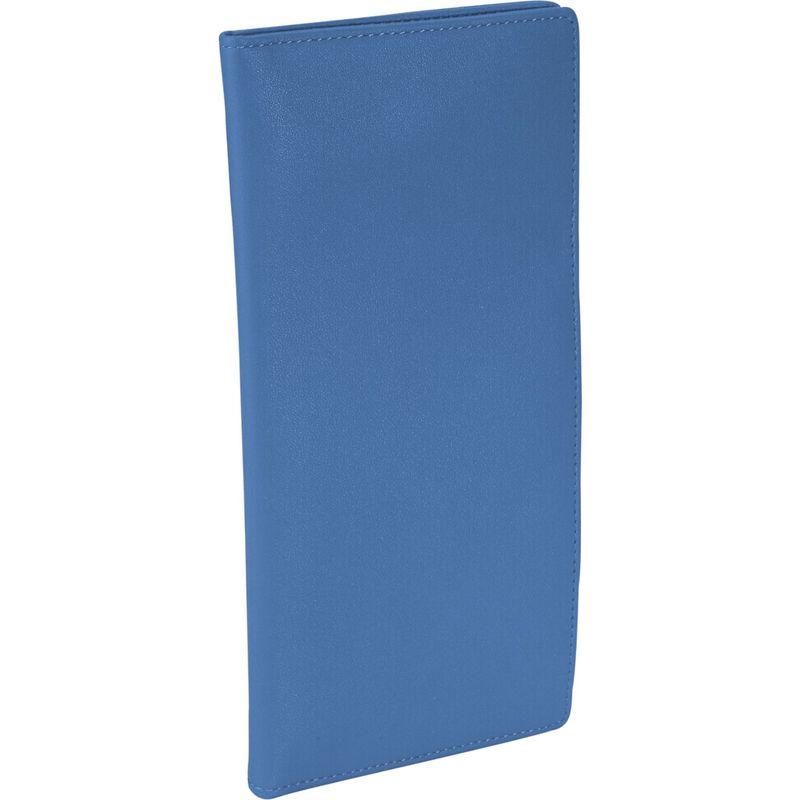 ロイスレザー メンズ 財布 アクセサリー Passport Ticket Holder Royce Blue