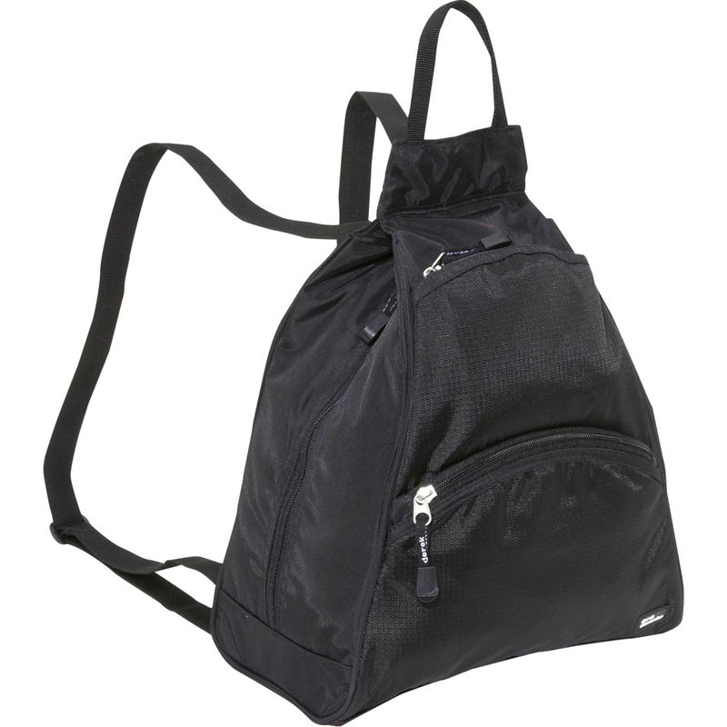 デレクアレクサンダー メンズ ハンドバッグ バッグ Small Tear Drop Bike Pack Black/Black