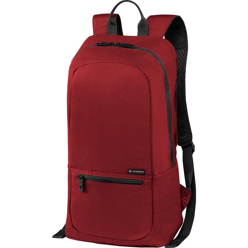 ビクトリノックス メンズ スーツケース バッグ Lifestyle Accessories 4.0 Packable Backpack Red/Black Logo