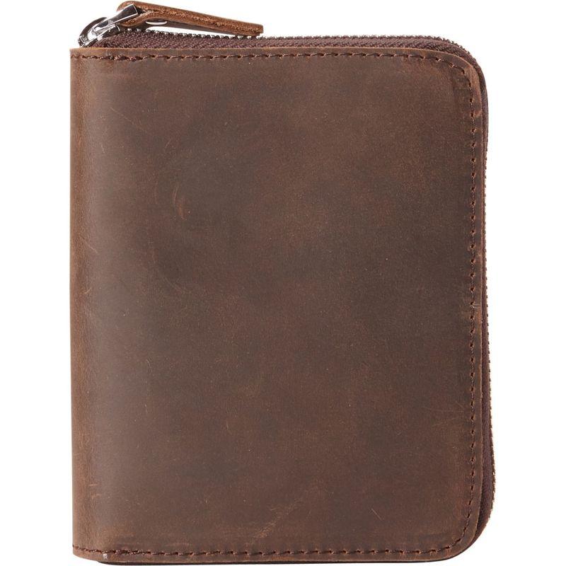 ヴァガボンドトラベラー メンズ 財布 アクセサリー Medium Zipper Wallet Distress