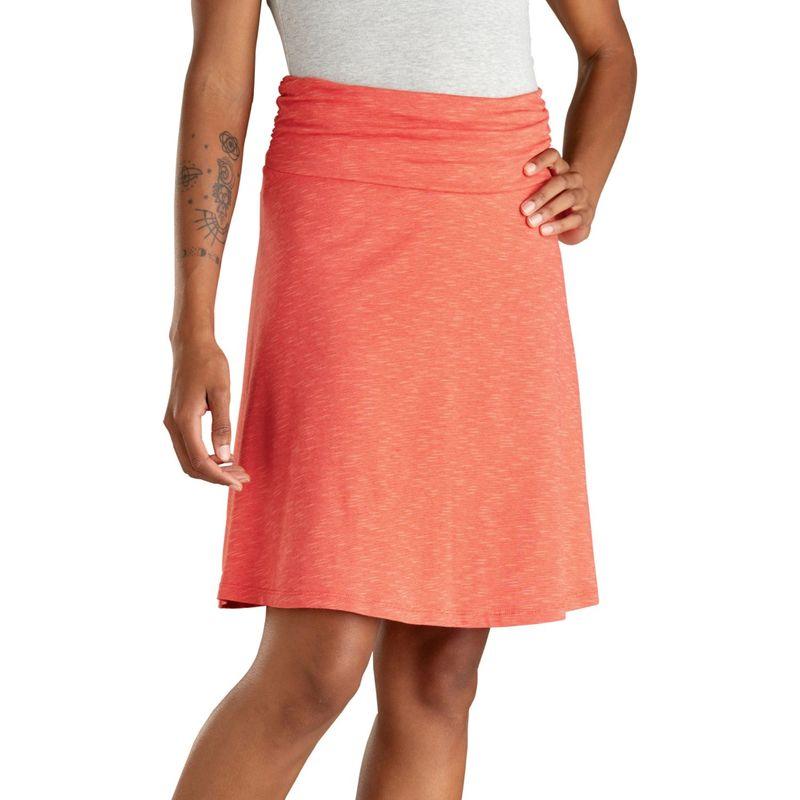 トードアンドコー レディース スカート ボトムス Chaka Skirt XS - Coral Blaze