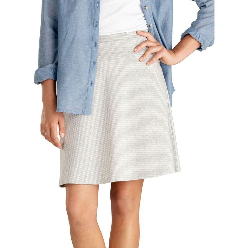 トードアンドコー レディース スカート ボトムス Chaka Skirt XS - Heather Grey Mini Stripe