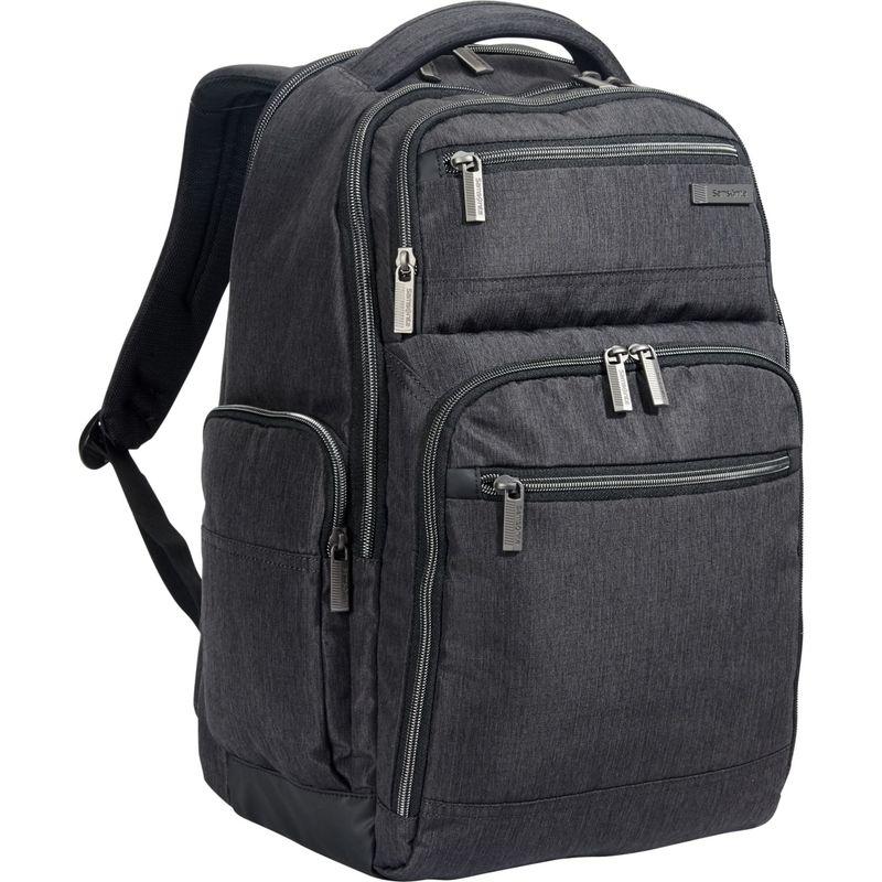 サムソナイト メンズ スーツケース バッグ Modern Utility Double Shot Laptop Backpack Charcoal Heather