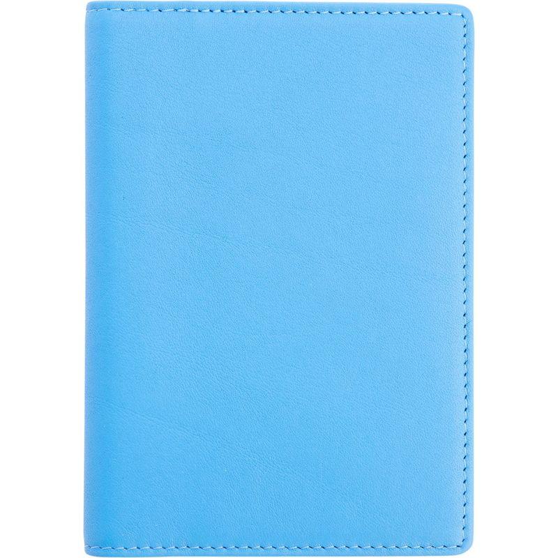ロイスレザー メンズ 財布 アクセサリー RFID Blocking Travel Document Case Royce Blue
