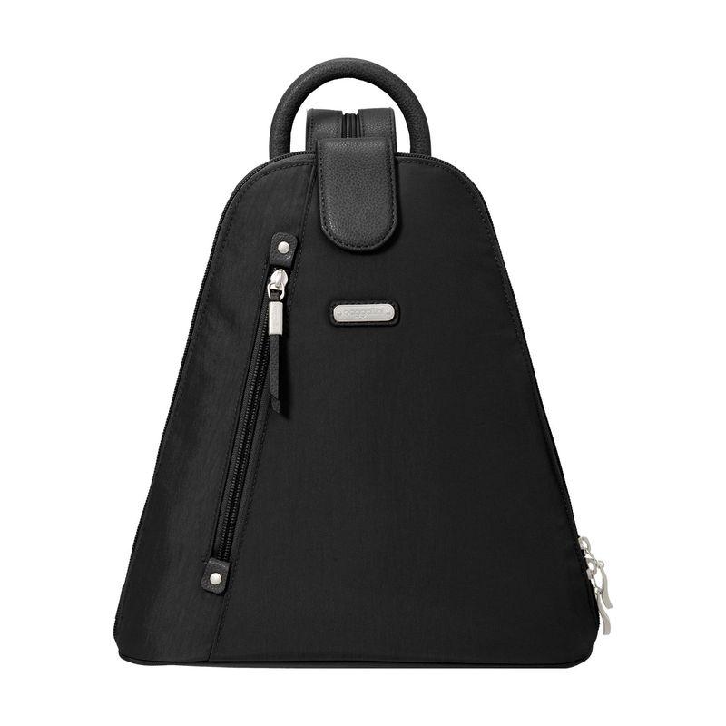 バッガリーニ メンズ ハンドバッグ バッグ Metro Backpack with RFID Phone Wristlet Black