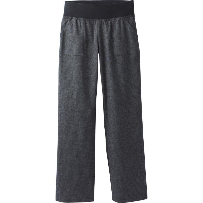 プラーナ レディース カジュアルパンツ ボトムス Mantra Pant XS - Black Herringbone
