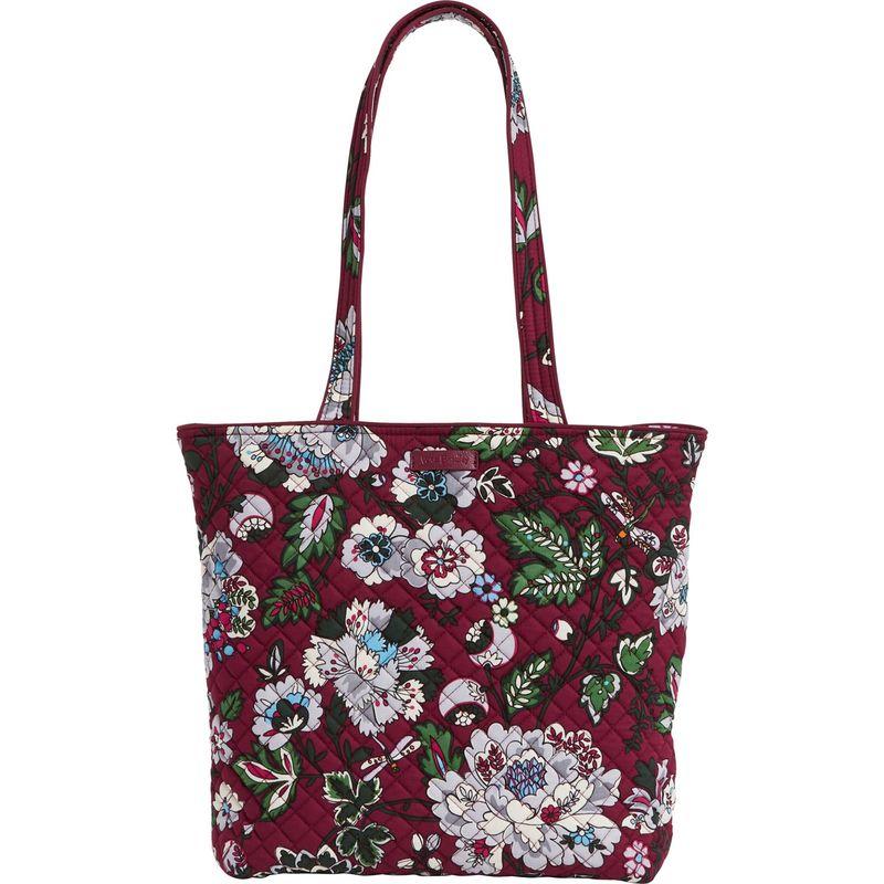 ベラブラッドリー メンズ トートバッグ バッグ Iconic Tote Bag Bordeaux Blooms