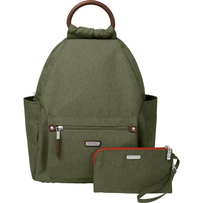 バッガリーニ メンズ ハンドバッグ バッグ All Day Backpack with RFID Phone Wristlet Olive