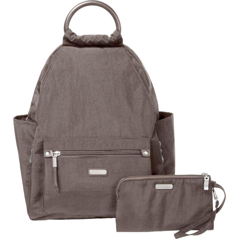 バッガリーニ メンズ ハンドバッグ バッグ All Day Backpack with RFID Phone Wristlet Sterling Shimmer