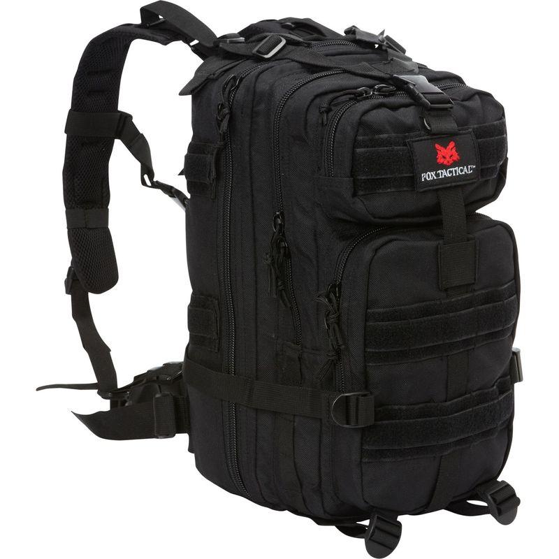 フォックスアウトドア メンズ ボストンバッグ バッグ Medium Transport Pack Black