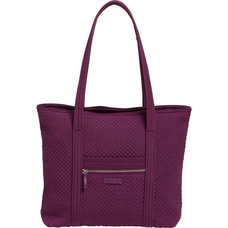 ベラブラッドリー メンズ トートバッグ バッグ Iconic Vera Tote - Solids Gloxinia Purple