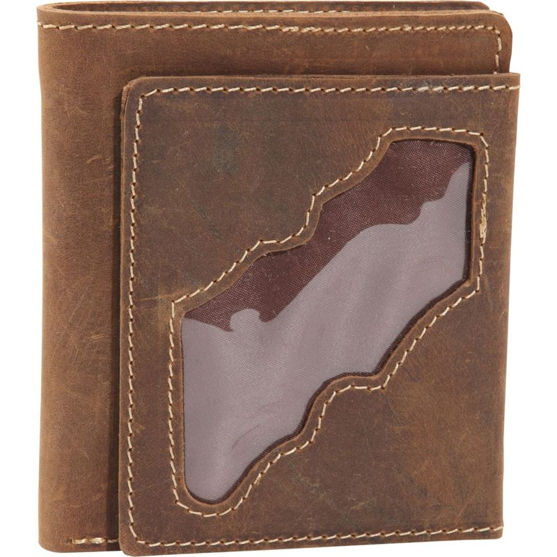 ヴァガボンドトラベラー メンズ 財布 アクセサリー WANDERER 4 - Classic Leather Bifold Wallet Vintage Brown