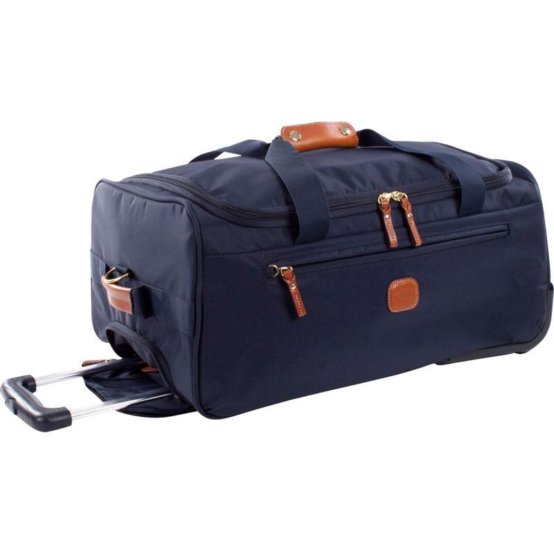 """ブリックス メンズ スーツケース バッグ X-Bag 21"""" Rolling Duffle Navy"""