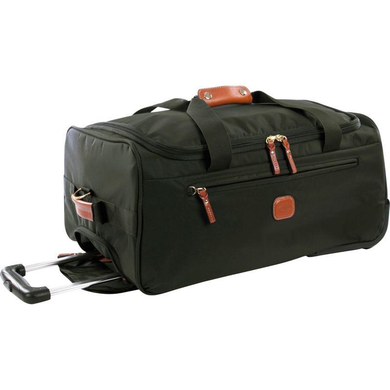 """ブリックス メンズ スーツケース バッグ X-Bag 21"""" Rolling Duffle Olive"""