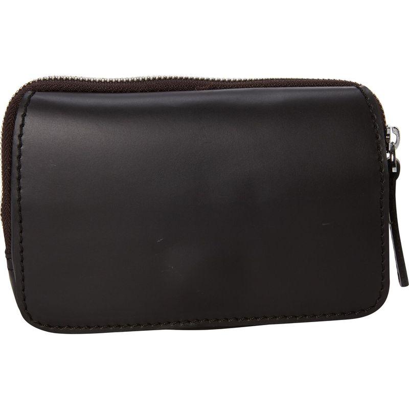 ヴァガボンドトラベラー メンズ ボディバッグ・ウエストポーチ バッグ Full Grain Leather Hand Clutch Waist Pack Black