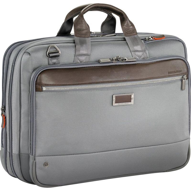 ブリグスアンドライリー メンズ スーツケース バッグ @work Large Expandable Brief Grey