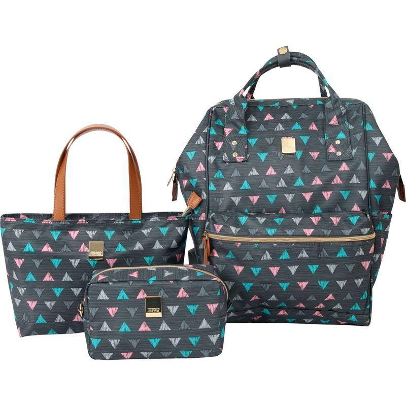 ジャイワールドニューヨーク メンズ ハンドバッグ バッグ Posy 3 Piece BackpackTotePouch Collection Sprinkle