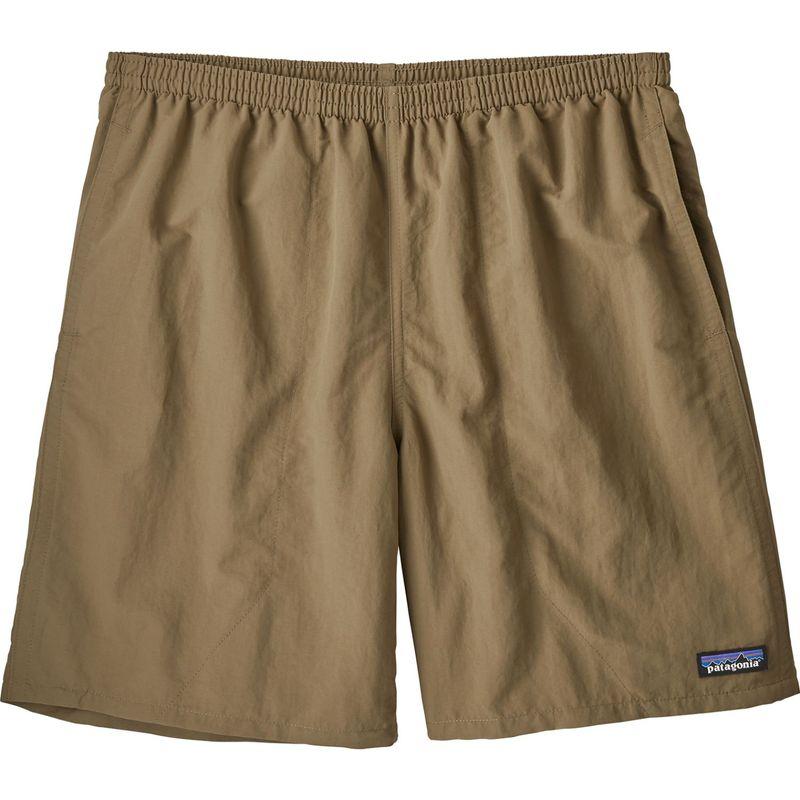 パタゴニア メンズ ハーフパンツ・ショーツ ボトムス Mens Baggies Longs Shorts - 7 in S - Ash Tan